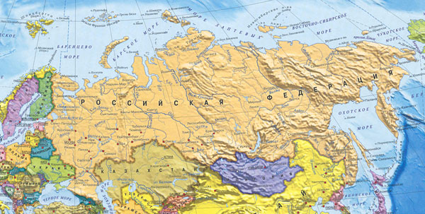 Map Of Russia In Russian.Russia Information Russian Information Information Kremlin Red